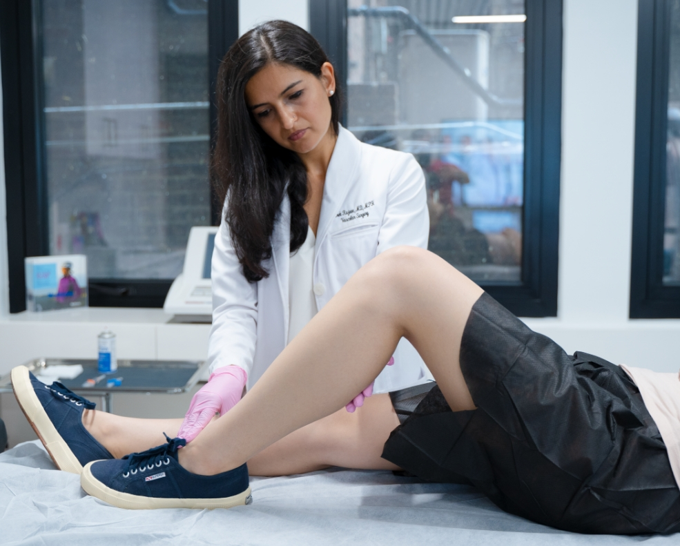 What is the cost of vein treatment new york?